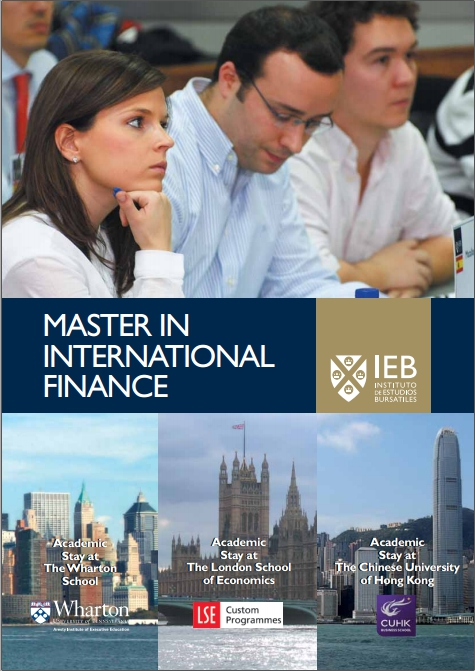 Master thesis in international finance
