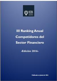 III Ranking Anual Competidores del Sector Financiero