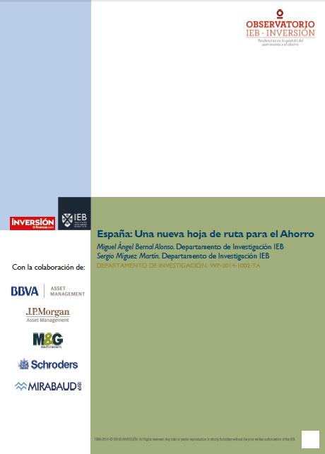 España: Una nueva ruta para el Ahorro