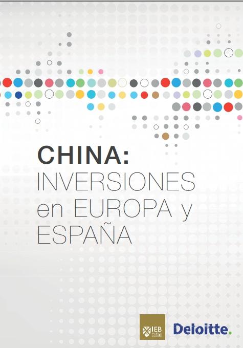 CHINA: Inversiones en Europa y España